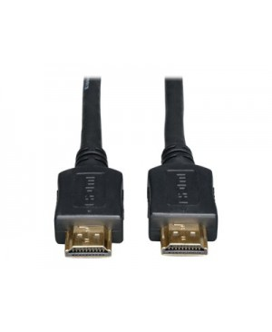 Tripp Lite 50ft Standard Speed HDMI Cable Digital Video with Audio Plenum Rated M/M 50' - HDMI cable HDMI to HDMI - 50 ft