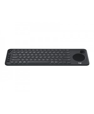 Logitech K600 TV - keyboard - with touchpad, D-pad - graphite black
