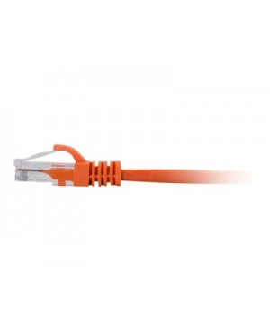 C2G 35ft Cat6 Snagless Unshielded (UTP) Ethernet Network Patch Cable Orange - patch cable - 35 ft - orange