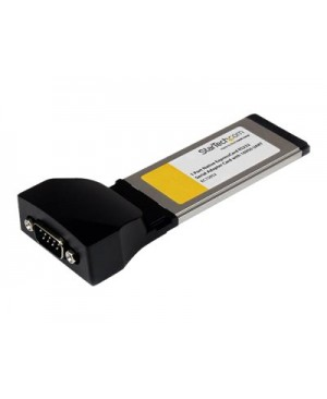 StarTech.com 1 Port Native ExpressCard RS232 Serial Adapter Card with 16952 UART - serial adapter