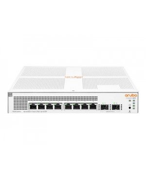 HPE Aruba Instant On 1930 8G Class4 PoE 2SFP 124W Switch - switch - 8 ports - managed - rack-mountable