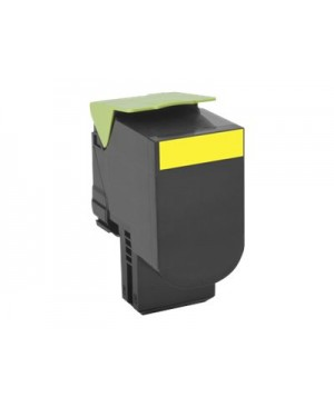 Lexmark 701HY - High Yield - yellow - original - toner cartridge - LCCP, LRP