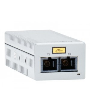 Allied Telesis AT-DMC1000/LC - fiber media converter - GigE