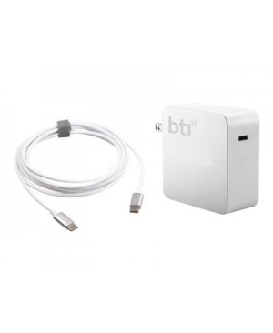 BTI AC-60TC - Power adapter - 60 Watt - for Apple MacBook (12 in)