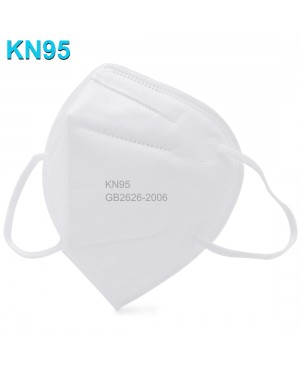 10x CE/FDA/FFP2 Certified KN95 Disposable Face Mask White