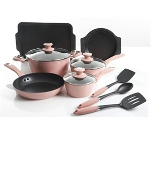 12 pc Rose induction cookware