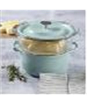 3qt casserole w Glass steamer