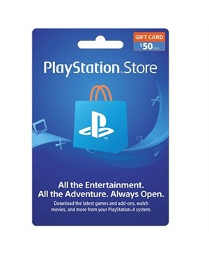 50 dollars PSN Card Live FY19