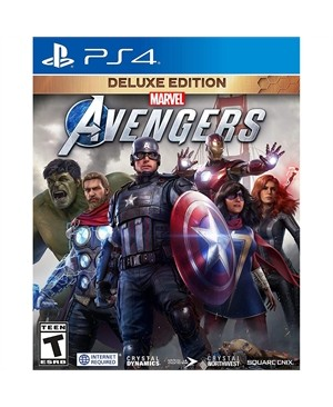 Marvel Avengers Deluxe Ed PS4