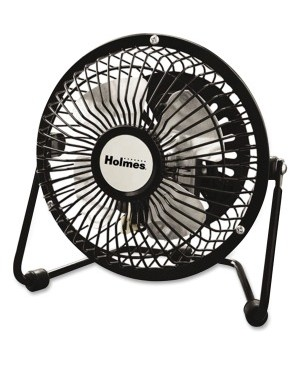 "Holmes 4"" Mini-Fan Black"