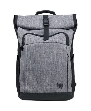 "Predator Carrying Case (Backpack) for 15.6"" Notebook - Gray, Black"